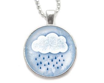 Clouds necklace