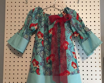 Ariel, Little Mermaid, Disney dress - size 3T