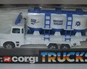 Silver Spoon Scania Truck vintage 1983 Mettoy Corgi Trucks (1150) boxed