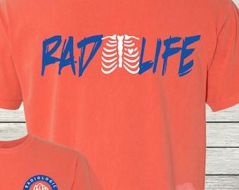 Monogrammed Radiology Radiogic Rad Life X-Ray Technologist