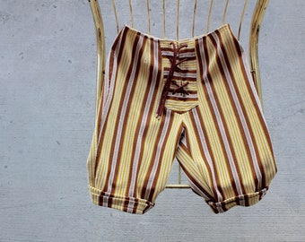 Vintage Striped Shorts