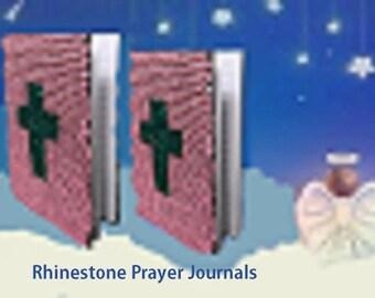 Rhinestone Prayer Journals