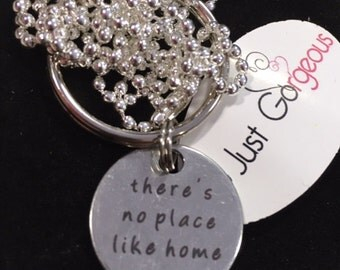 No Place Like Home Keyring/Necklace