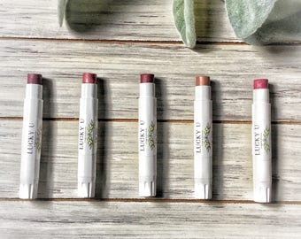 All Natural Lipstick,Moisturizing Lip tints,Organic cheek stain,Organic Lip Tints
