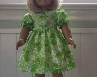 Short Sleeve Dress for American Girl Doll