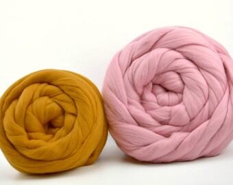 Super Chunky yarn. 18 mic. Extra fine merino wool, bulky yarn, Super chunky merino wool