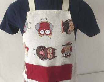 Small Owl apron