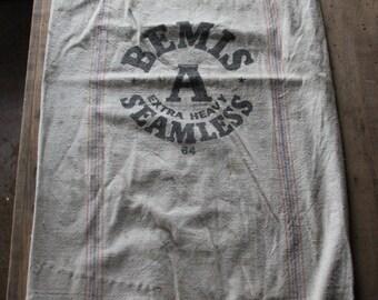 Bemis Seamless canvas seed sack
