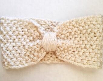 The Forager headband, handmade.