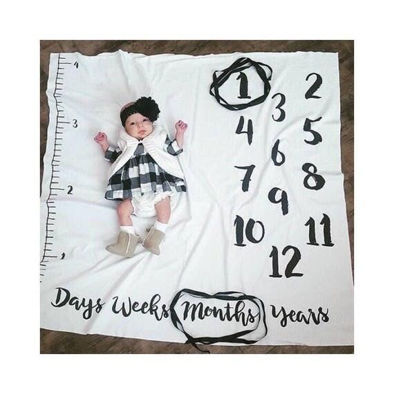 Milestone Blanket Monthly Milestone Blanket Age Blanket