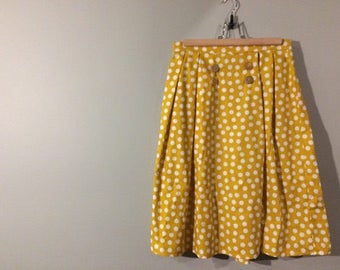 Vintage Style Handmade Skirt - Customizable - Modest - Cotton