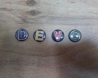 Devo Pin Set (4 pins)
