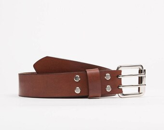 Handcrafted leather belt // Colorado