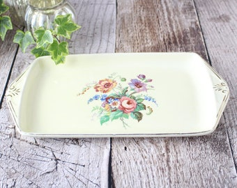 Dressing Table Dish, Vintage Dish by Ridgway
