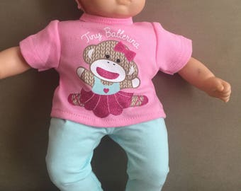 New For American Girl Bitty Baby Tiny Ballerina Outfit