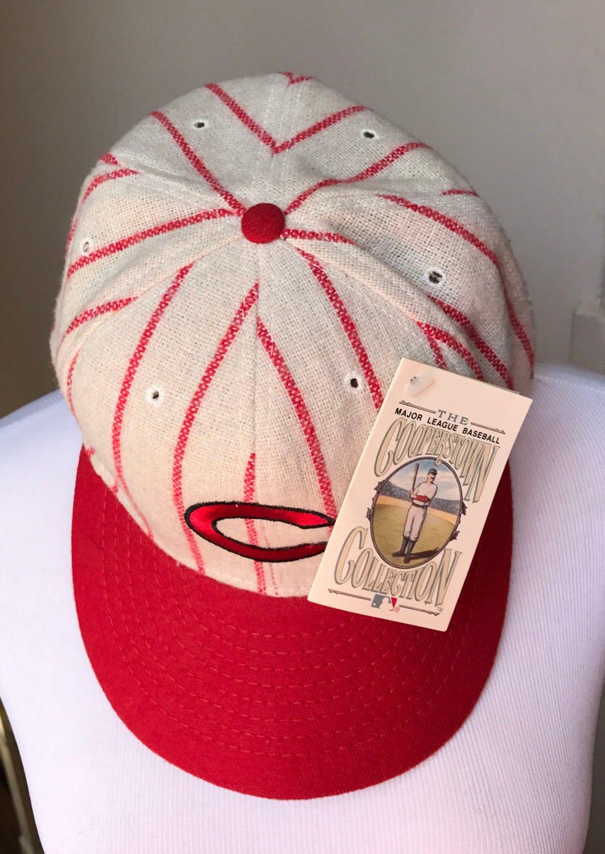 eb44ed87126 ... germany vintage cincinnati reds hat baseball cap oldschool reds hat  throwback 1961 1966 3b3ac be97c
