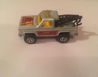 1970s Majorette Tow Truck Die-Cast Car