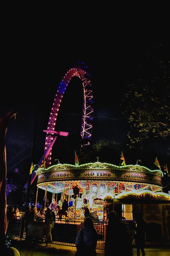 City Photography, London Eye, London Photography, Big Ben, Thames, London City, London Landscapes, Wall Art, Wall Print, London at Night