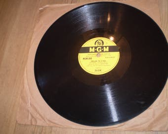 Prelude to a Kiss,Billy Eckstine 1953 78rpm Shellac Jazz Record,MGM809.Composed by Duke Ellington