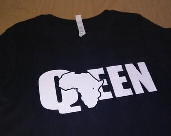 African Queen Women's Fitted