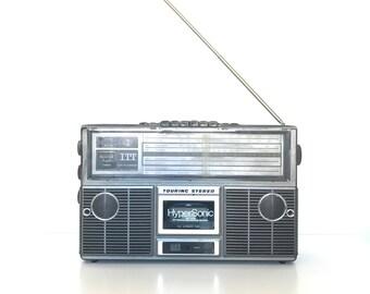 Vintage Radio ITT Schaub-Lorenz // Stereo Cassette Player // Recorder // Made in Germany