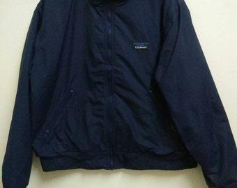 Rare Vintage L L BEAN Warm Up Jacket