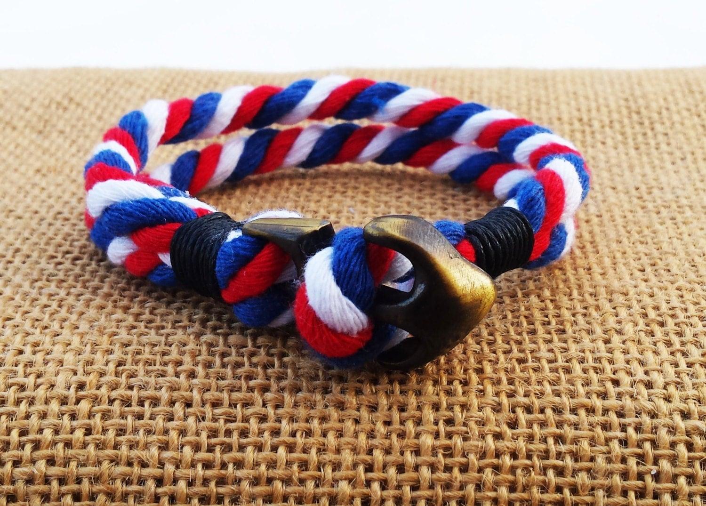 Herren Schmuck Seil Armband Armband nautische Geschenke