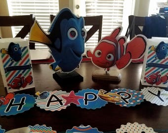 Finding Nemo/Dory Centerpieces
