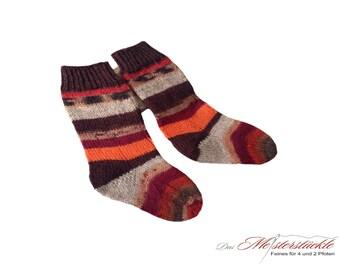 Children's socks size 21-22 baby socks hangestrickt