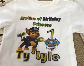 Custom Boys Character Shirt