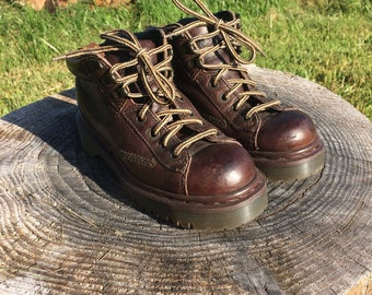 Vintage Dr. Martens // Womens Work Boots UK size 4 US size 6