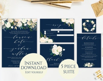 Wedding Invitation Suite Template Wedding Invitation - Wedding invitation templates: wedding invitation suite templates