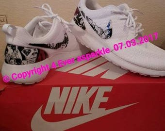 Custom Nike Roshe Trainers