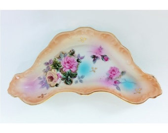 Vintage China Pin Tray (Ring Dish), R. S. Prussia Reproduction