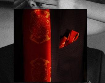 men silk handkerchief