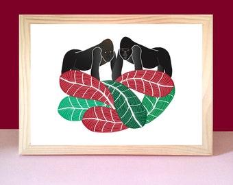 Poster gorillas
