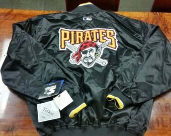 Large Pittsburgh Pirates starter jacket,NEW,NWT,90s, satin jacket