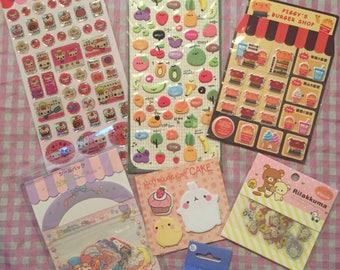 Kawaii Sticker Lot Sanrio San-X & more!