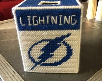 Lightning tissue box