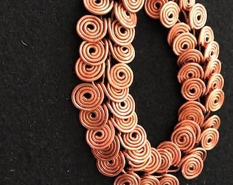Egyption coil bracelet