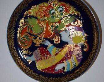 Björn Wiinblad - Rosenthal - Studio-Line - Germany - Aladdin - Wall Plate - 70s - Design