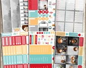Harry Potter & Friends - Erin Condren Vertical - 6 Sheet Planner Kit (Matte Only)
