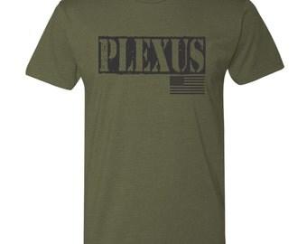 Plexus Military Shirt - Army Green