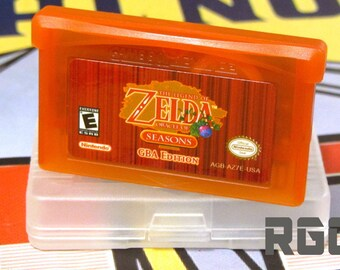 Legend of Zelda Oracle of Seasons GBA Edition Custom FanMade Red