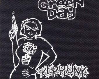 PATCH Green Day Kerplunk silkscreen