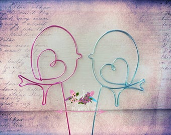 Love Birds Topper