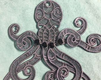 Release the Kraken: Embroydered Lace (Twilight)