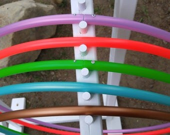 """4 sections collapsible travel hoop (POLYPRO) 5/8"""" OD"""