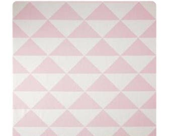 Punk white triangles
