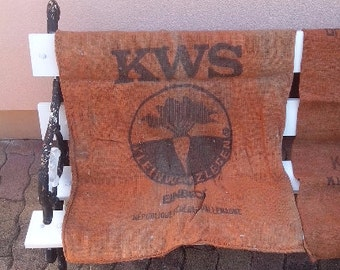 DISCOUNT 2 burlap bags Polybeta KWS sugarbeet of the Republic Feferale of Germany FRG